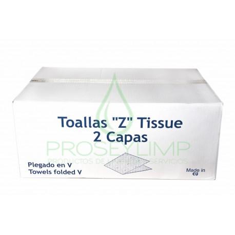 TOALLITAS ZIGZAG TISSUE ECO 200 UNIDADES (Pack de 20 cajas)