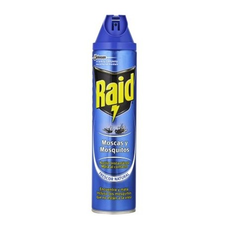 RAID AZUL VERDE SPRAY 600 ML