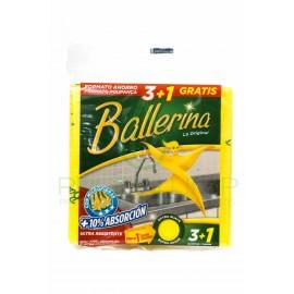 BAYETA ABSORBENTE BALLERINA 3 UNIDADES