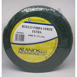 ROLLO FIBRA VERDE 6 METROS  1 UNIDAD