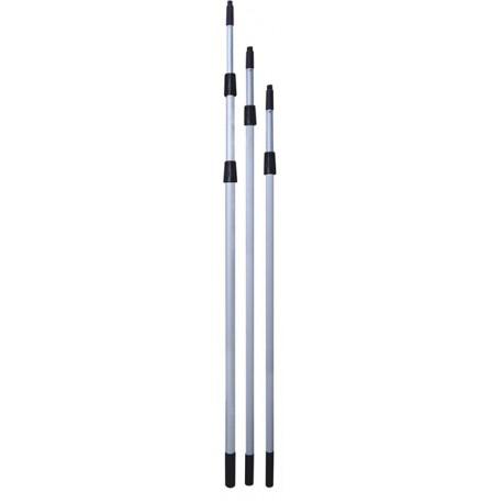 PALO TELESCÓPICO 6 METROS (4 TRAMOS X 1,5 M)