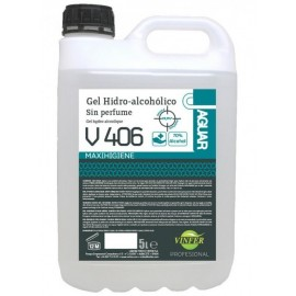 GEL HIDROALCOHOLICO 5 LITROS 70% ALCOHOL