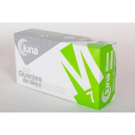 GUANTES LATEX 100 UNID