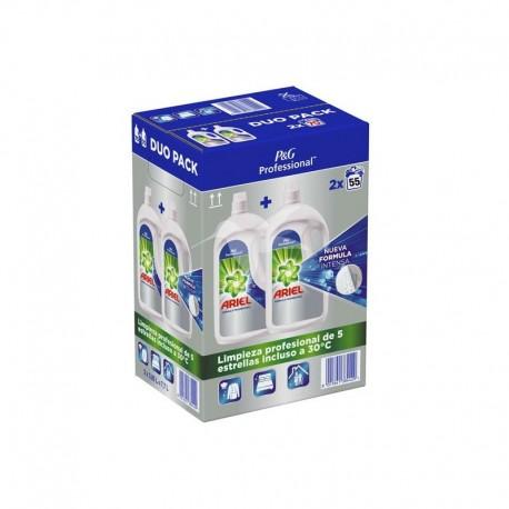 Ariel Detergente Liquido Profesional 3,025L x 2 uds